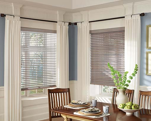Custom Blinds for Light Control in Homes, Dining Rooms, and Sun Rooms in Jacksonville, Florida (FL)