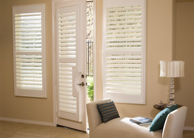Custom Plantation Shutters for Living Rooms in Jacksonville, Florida (FL)