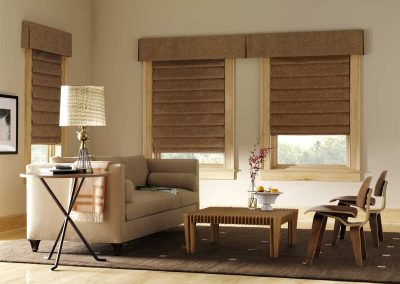 Design Studio™ Roman Shades for Homes & Living or Family Rooms in Jacksonville, FL