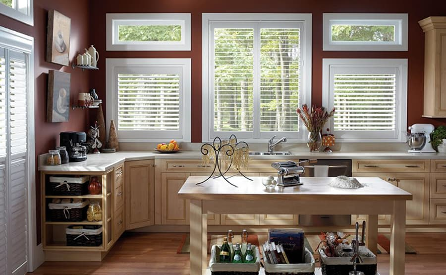 Durable Woodlore Shutters for Homes, Kitchens, and Offices in Jacksonville, Atlantic & Neptune Beach, Florida (FL)