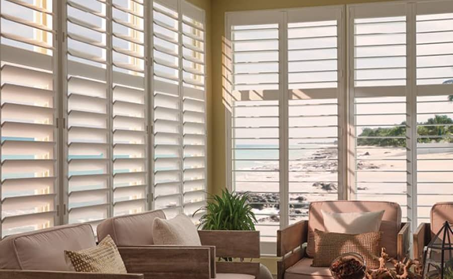 Durable Woodlore Shutters for Homes and Living Rooms in Jacksonville, Atlantic & Neptune Beach, Florida (FL)