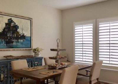 Custom Window Shutters for Dining Rooms in Jacksonville, Florida (FL)