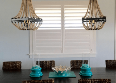 Custom Window Treatments for Dining Rooms in Jacksonville, Florida (FL)