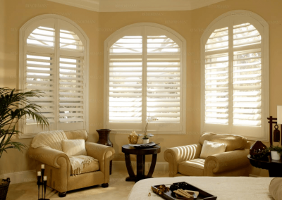 Shades for Custom-Shaped Windows in Jacksonville, Florida (FL)