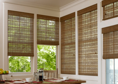 Grass Weaves Woven Woods Window Shades for Living Rooms in Jacksonville, Florida (FL)
