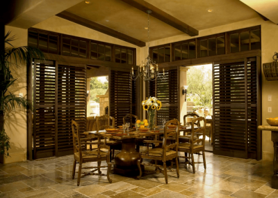 Heritance Hardwood Shutters for Dining Rooms in Jacksonville, Florida (FL)