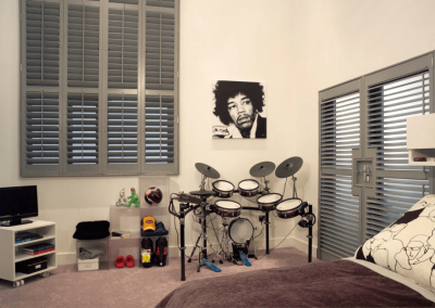 Custom Window Shutters for Kids Room in Jacksonville, Florida (FL)