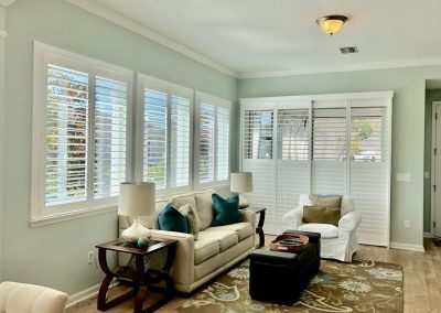 Opened Window Shutters for Homes in Jacksonville, Florida (FL)