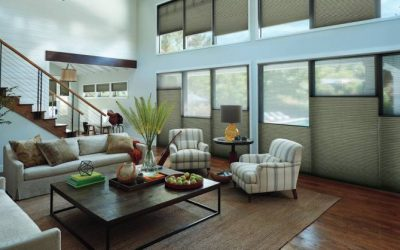 Adding Hunter Douglas Honeycomb Shades to Homes near Jacksonville, Florida (FL), for Custom Lighting